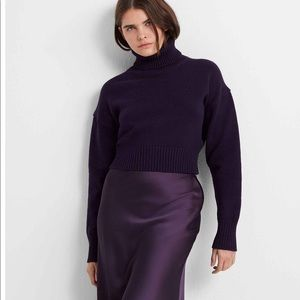 Club Monaco purple turtleneck new